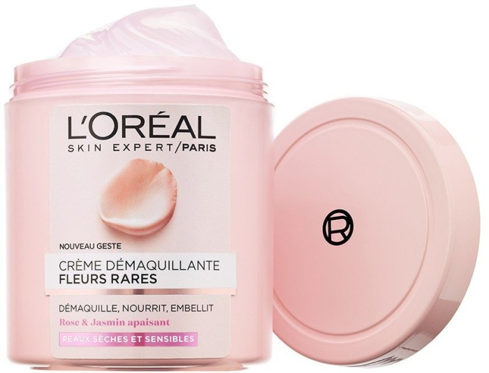 L'Oreal Fine Flowers Cleansing Cream 200ml