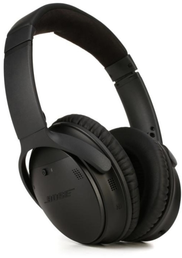 Bose QuietComfort 35 Wireless Headphones II Black 236g