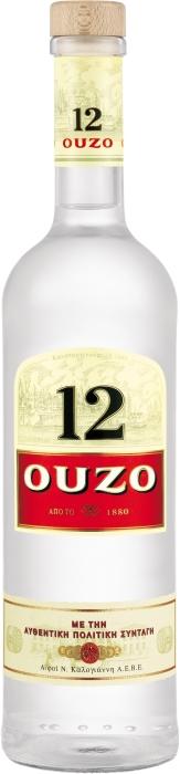 OUZO 12 1L