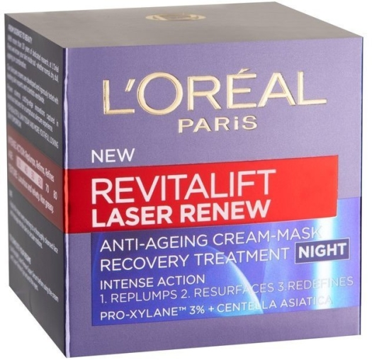 L'Oreal Revitalift Laser Renew Cica Night Cream 50ml