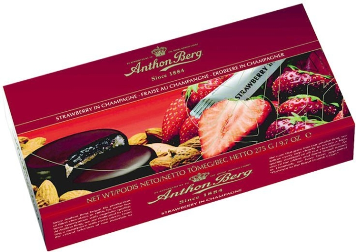 Anthon Berg Strawberry in Champagne Chocolates 220g