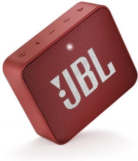 JBL GO 2 Portable Bluetooth Speaker Ruby Red 184g