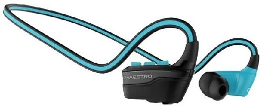 Maestro Bluetooth Earphone Blue