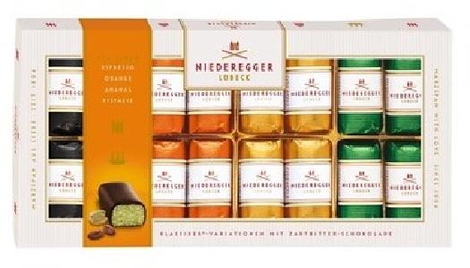 Niederegger Marzipan classic variations in dark chocolate 110170 200g