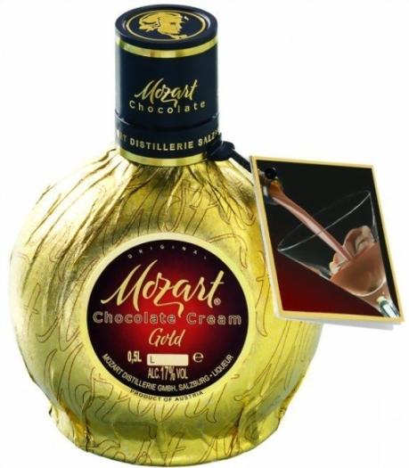 Mozart Gold Liqueur 17% 0.5L