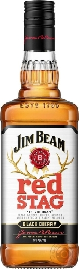 Jim Beam Red Stag 32.5% 1L
