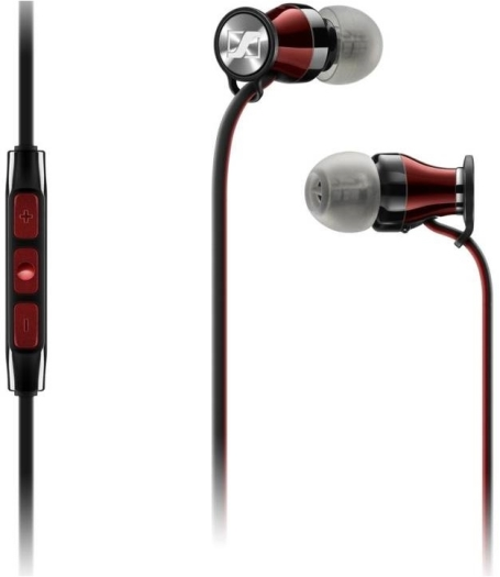 Sennheiser M2 IEI Momentum In-Ear Headphones for Apple iPhone Black 16g