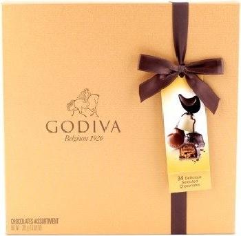 Godiva gold box 380g