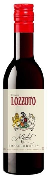 Lozzoto Merlot, Vino d'Italia 0.187L