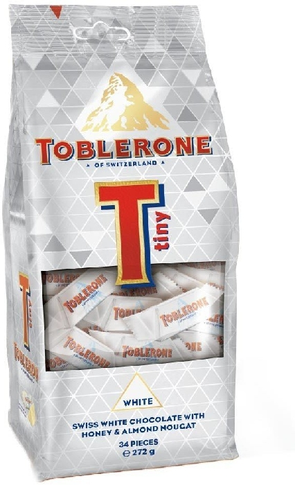 Toblerone Tiny White Bag 272g
