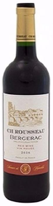 CH Rousseau Bergerac Wine red dry 12,5 % 0.75L