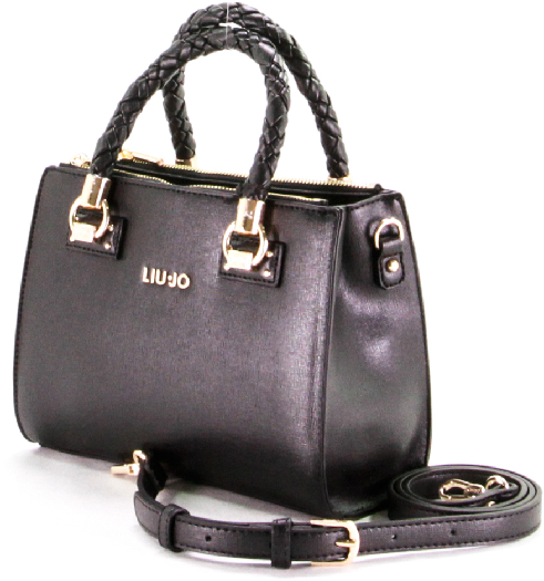 Liu Jo with braided handles black bag