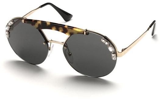 Prada PR 52US I8N5S0 37 Sunglasses