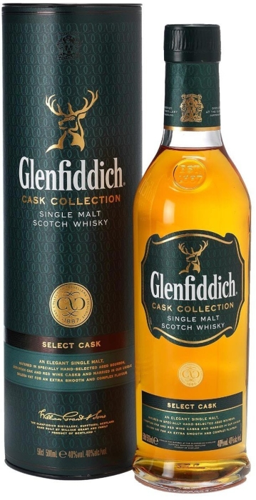 Glenfiddich Select Cask Collection Tub 0.5L