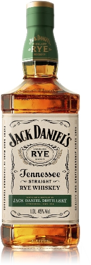 Jack Daniel's Tennessee Rye 45% Whiskey 1L