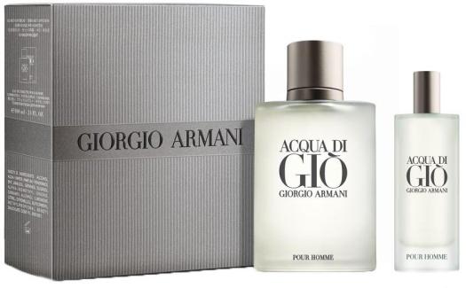 Giorgio Armani Acqua Di Gio pour Homme Set EdT 100ml+ 15ml