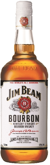 Jim Beam White Bourbon 40% 1L