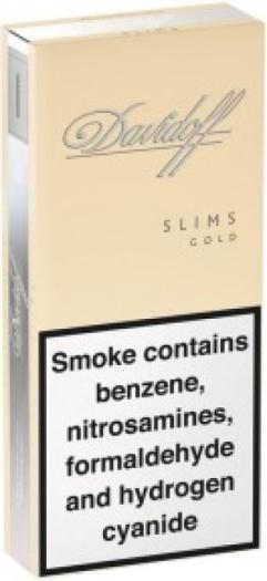 Davidoff Gold Slims Pack