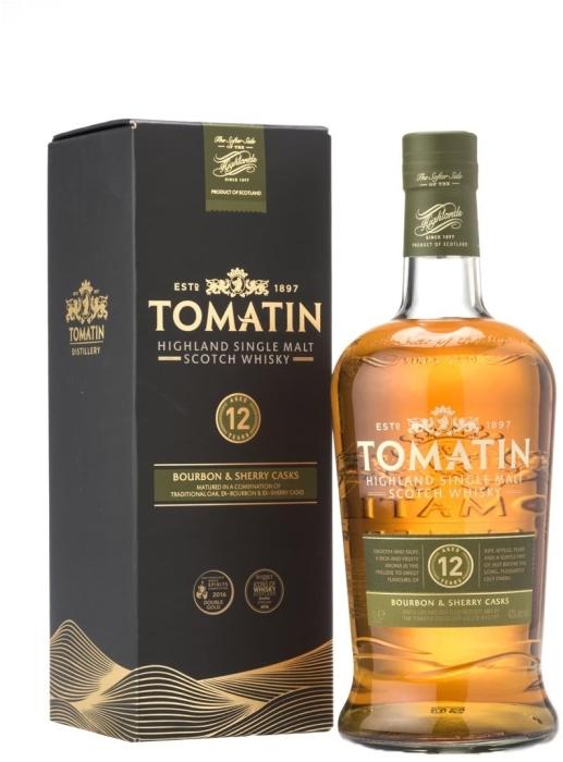Tomatin 12yo 40% Whiskey 1L