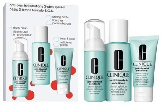 Clinique Anti-Blemish Solutions 3-Step System 30ml+50ml+100ml