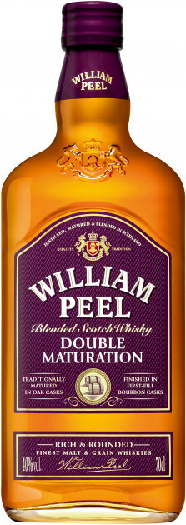William Peel Double Maturation Blended Scotch Whisky 0.7L