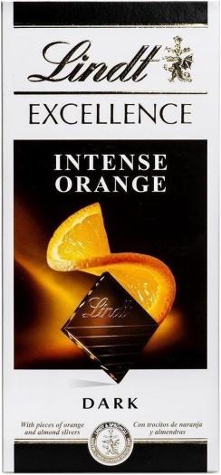 Lindt Excellence Orange 100g