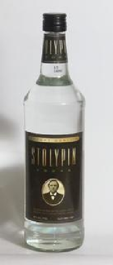 Stolypin Vodka Black Label 40% 1L