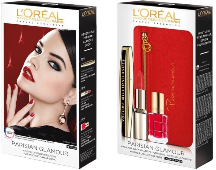L'Oreal Paris Looks-On-The-Go Parisian Glamour Set