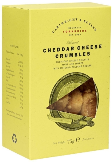 Cartwright&Butler Cheddar Cheese Crumbles 75g