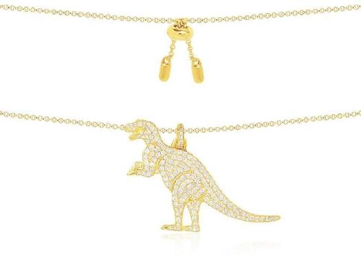APM Monaco Yellow Silver Rexy Necklace