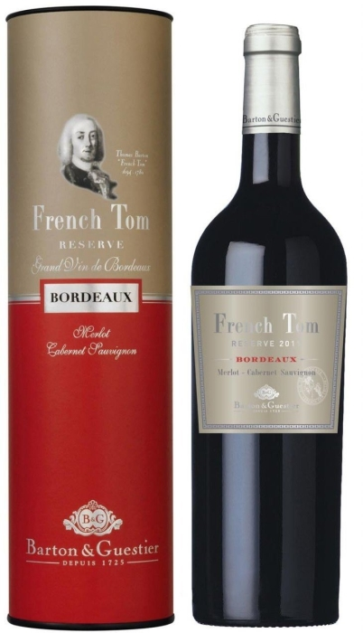Barton&Guestier French Tom Reserve Bordeaux 0.75L