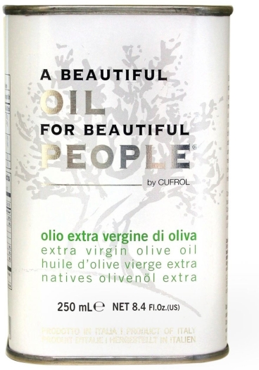 Cufrol A beautiful oil for beautiful people extra virgin olive oil 250ml