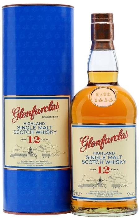 Glenfarclas Malt 12 y.o. 43% 1L