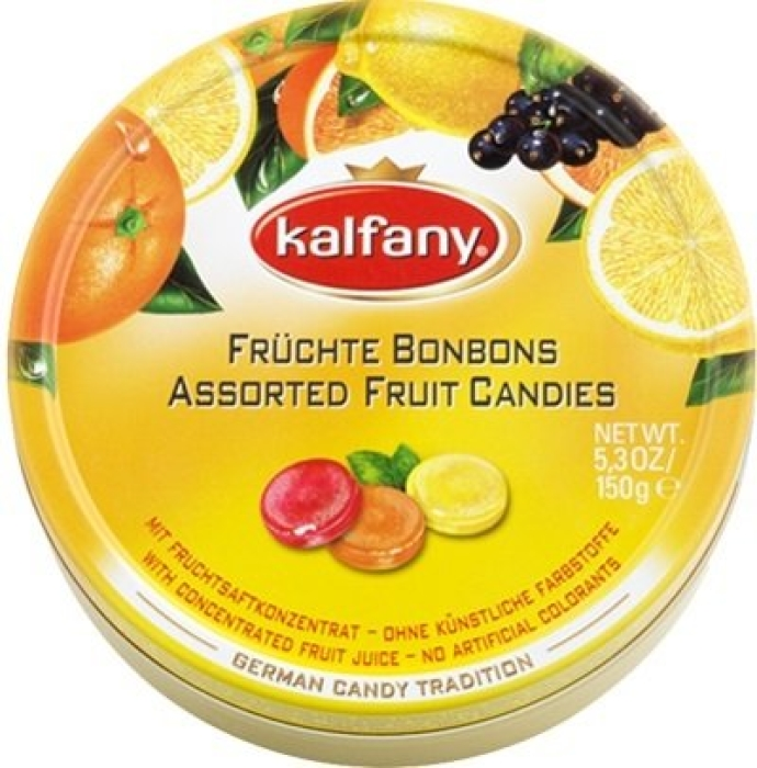Kalfany Assorted Fruit Candies 150g