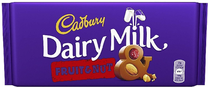 Cadbury Dairy Milk Fruit&Nut Tablet 300g