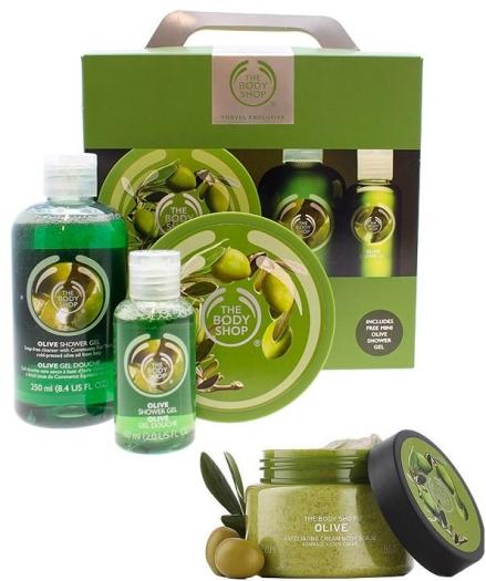 The Body Shop Olive Set 200+250+250+60ml
