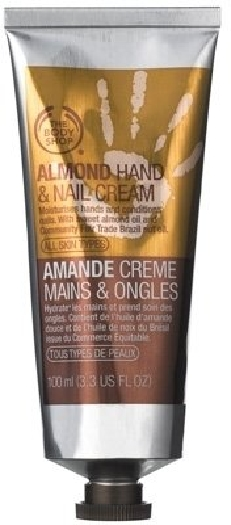 The Body Shop Almond Hand and Nail Cream 100ml