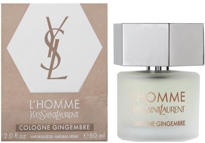 Yves Saint Laurent L'Homme Cologne Gingembre Eau de Cologne 60 ml