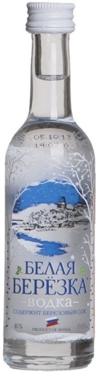 White Birch Vodka 40% 0.05L