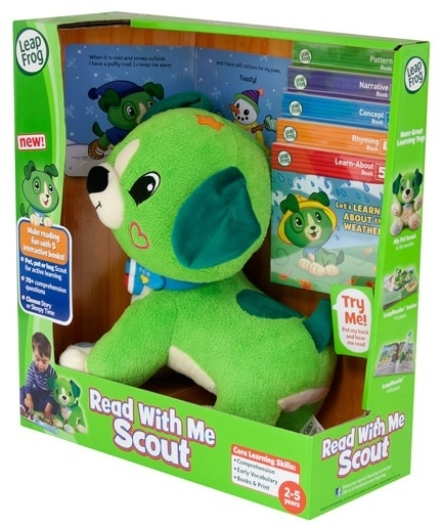 LeapFrog Read with Me Scout Toy