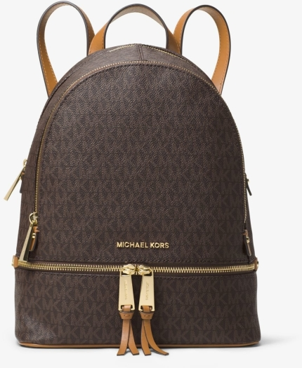 cb2bdd7aa22a Michael Kors Rhea Medium Leather Backpack in duty-free at airport ...