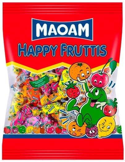 Haribo Maoam Happy Fruttis 375g