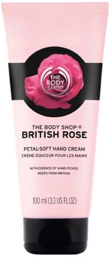 The Body Shop British Rose Hand Cream 100ml