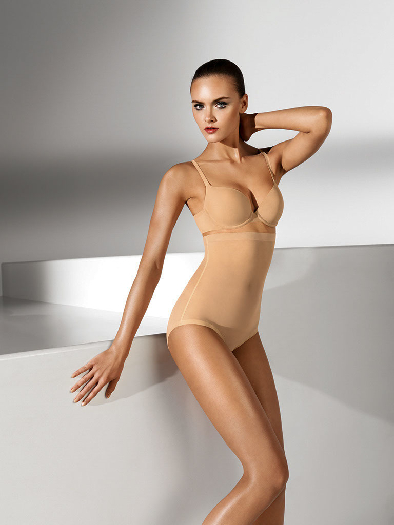 Wolford Tulle Control Panty High Waist 4545 36