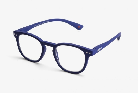 B+D DOT READER Matt Blue +2.00