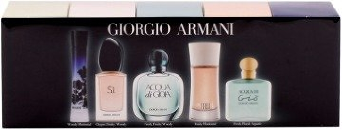 Perfume collection - Giorgio Armani Coffret