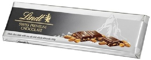 Lindt Dark Sea Salt Almond Chocolate 300g