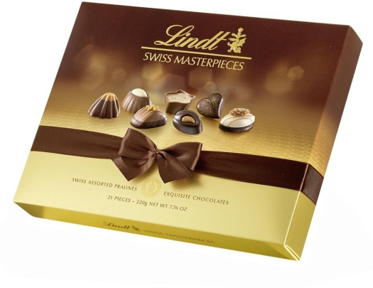 Lindt Assorted Swiss Masterpieces 220g