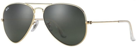 Ray-Ban Line Aviator Sunglasses