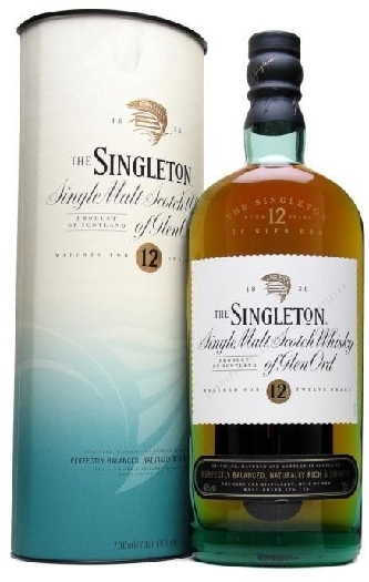 Singleton of Glen Ord 12 Years Old 1L